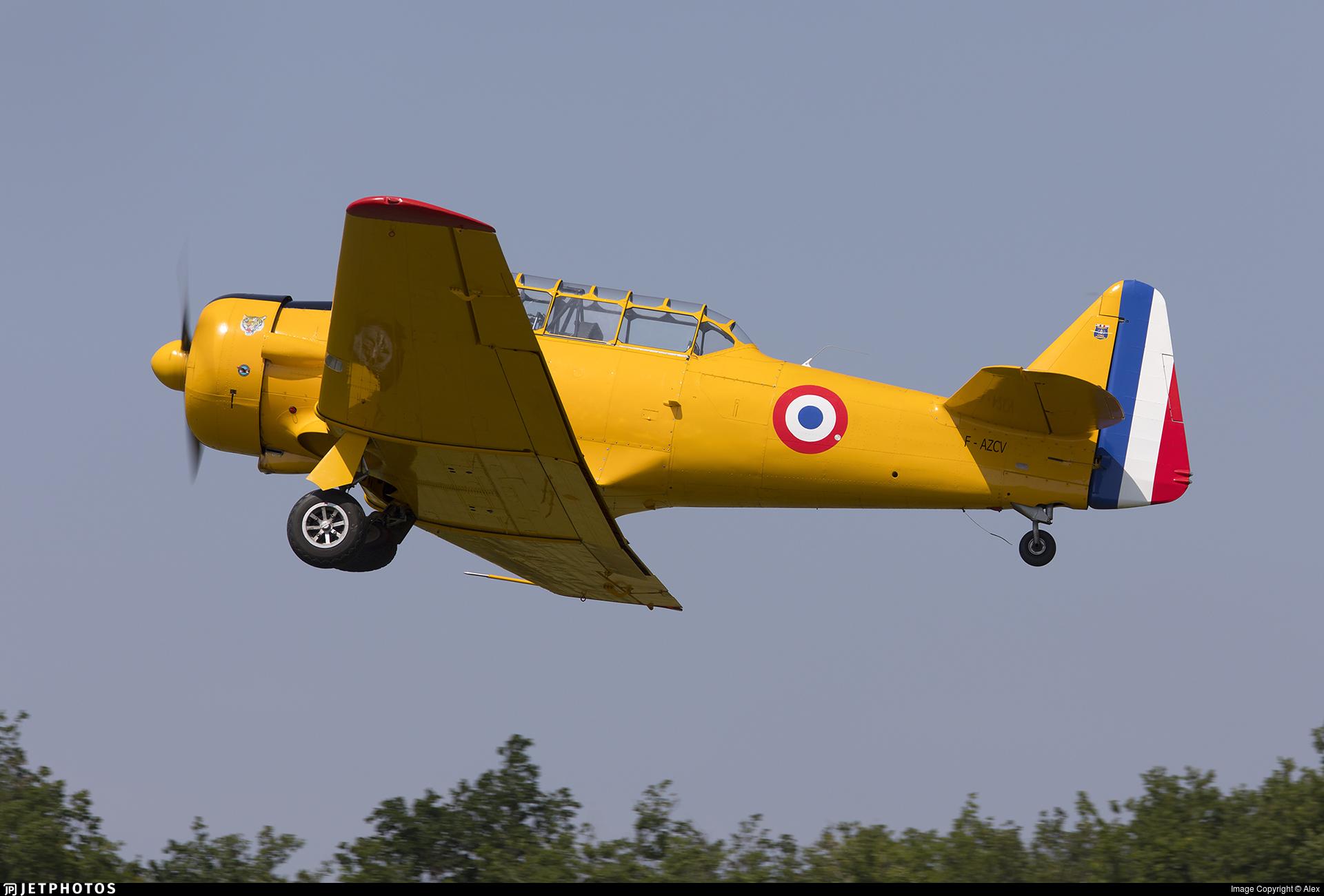 F-AZCV - North American T-6G Harvard 4 - Private