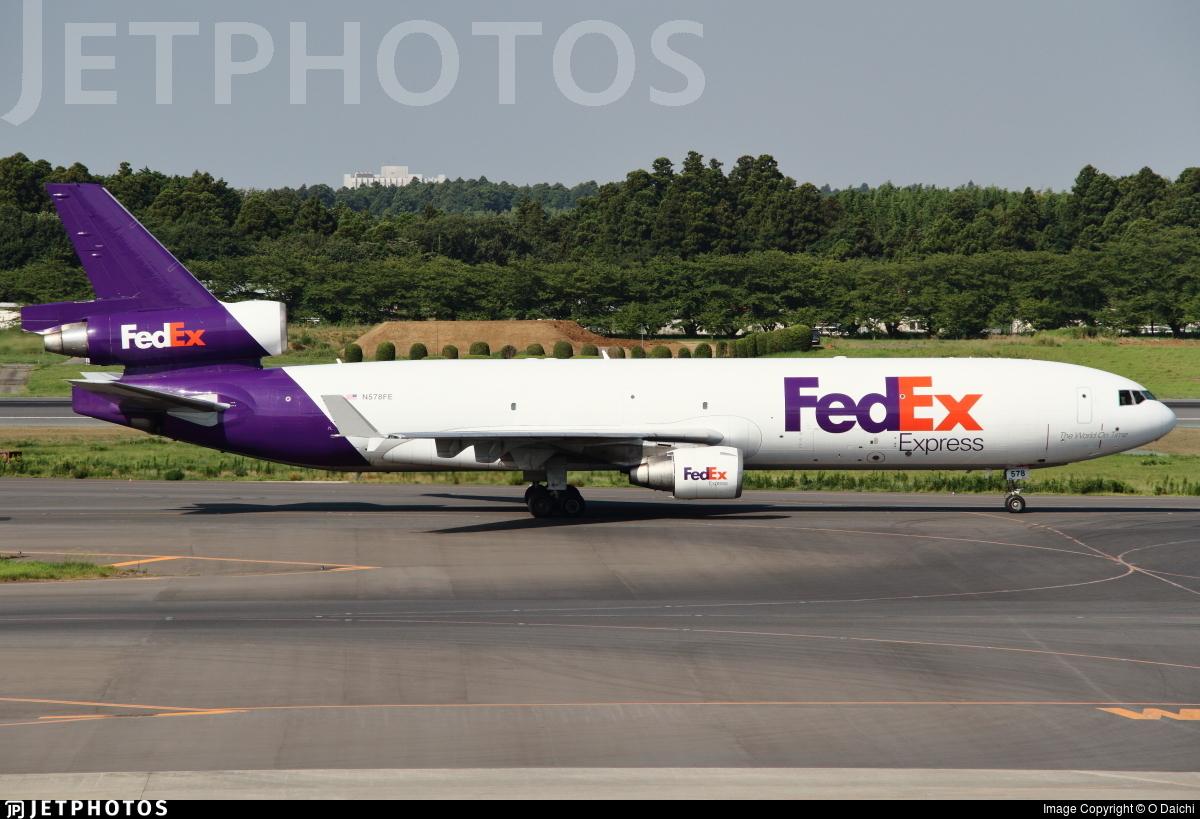 N578FE - McDonnell Douglas MD-11(F) - FedEx