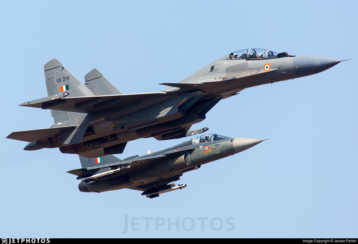 SB218 - Sukhoi Su-30MK3 - India - Air Force