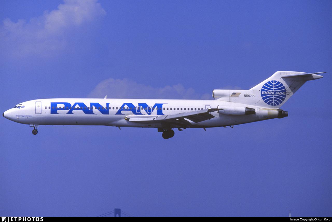 N557PE - Boeing 727-227(Adv) - Pan Am