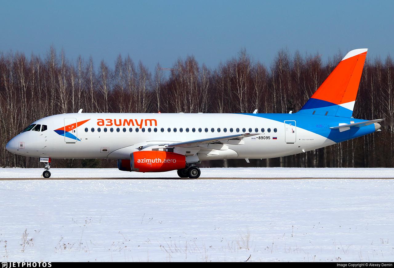89095 - Sukhoi Superjet 100-95LR - Azimuth Airlines