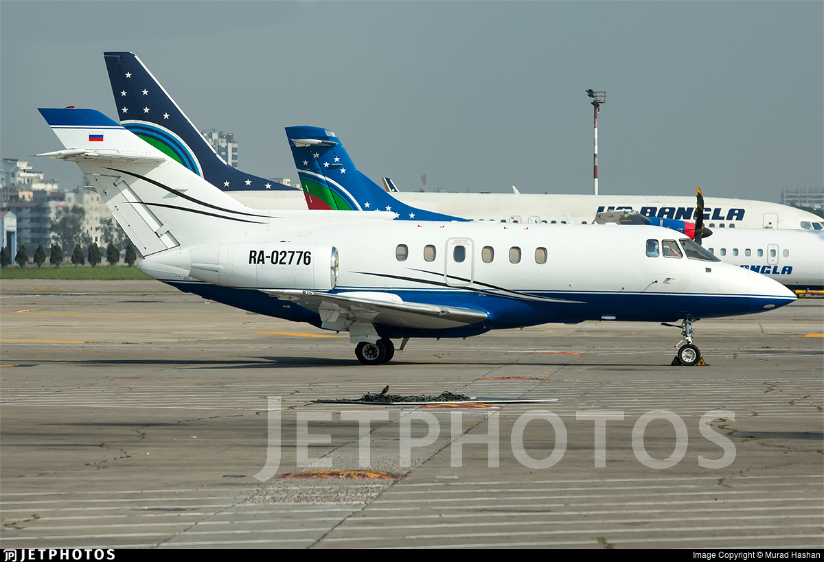 RA-02776 - British Aerospace BAe 125-800B - Sirius Aero