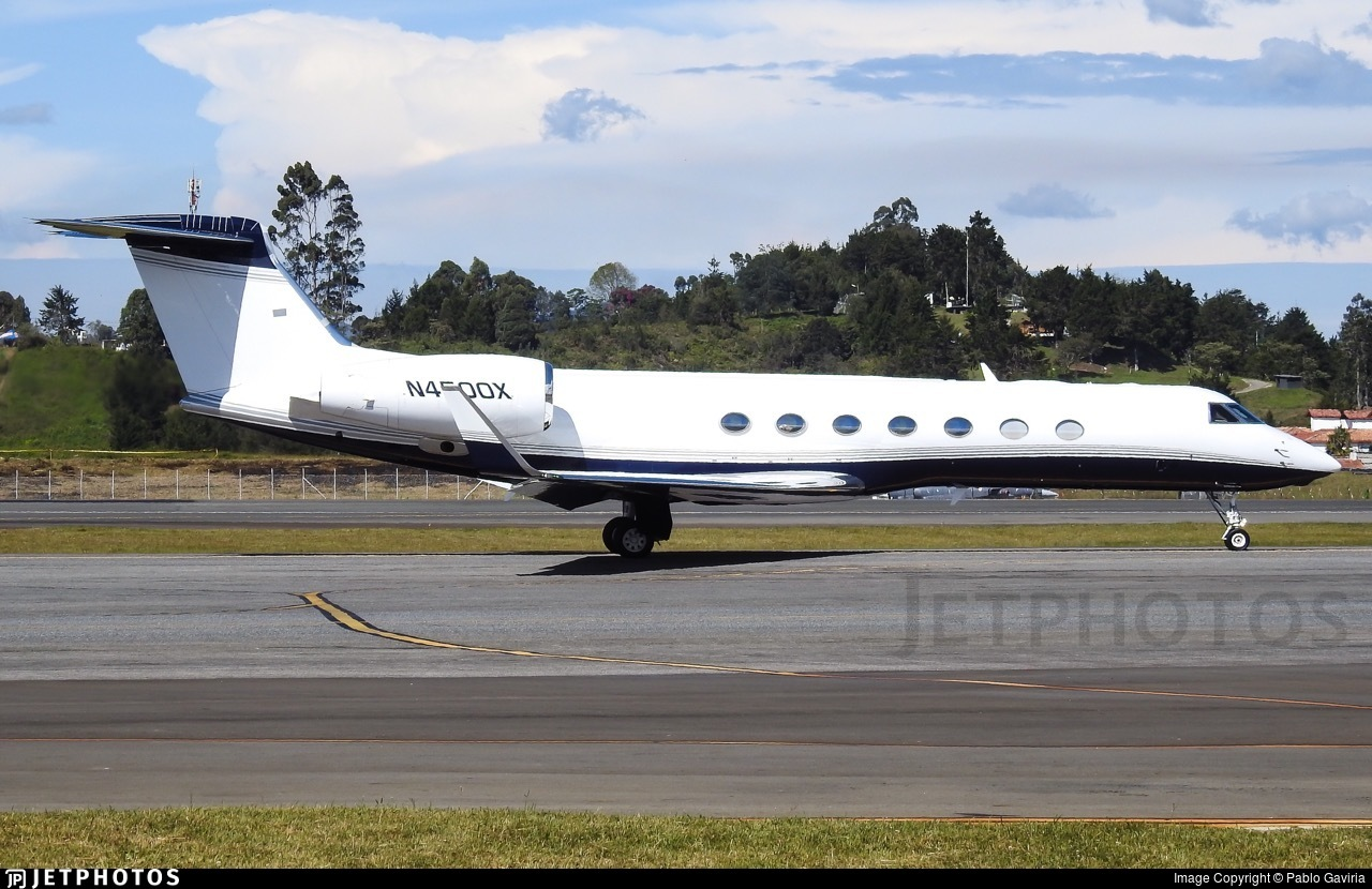 N4500X - Gulfstream G550 - Private