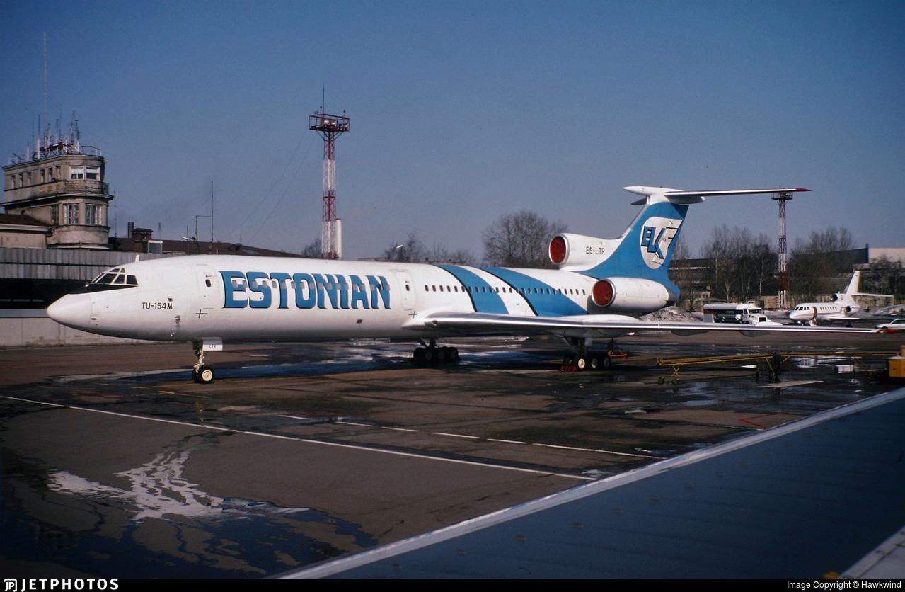 ES-LTR - Tupolev Tu-154M - ELK Airways