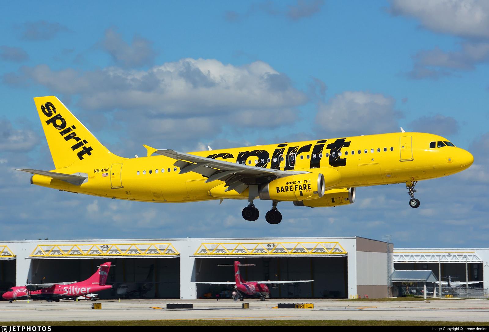 N614NK - Airbus A320-232 - Spirit Airlines