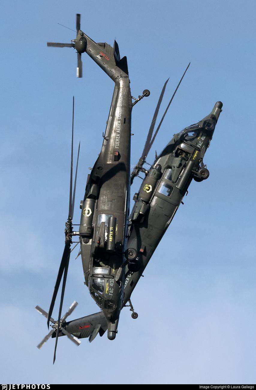 FAC4132 - Sikorsky AH-60L Arpia III - Colombia - Air Force
