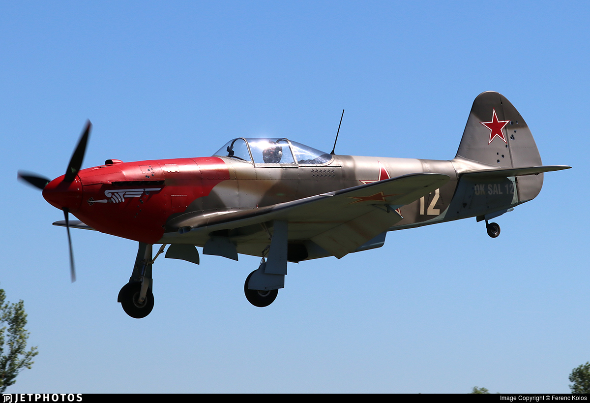 OK-SAL12 - ULL Yak-3 - Private