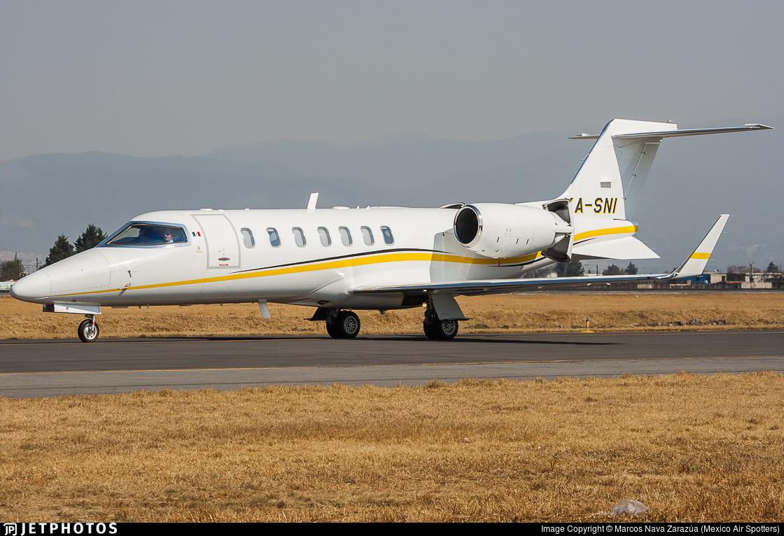 XA-SNI - Bombardier Learjet 40 - Private