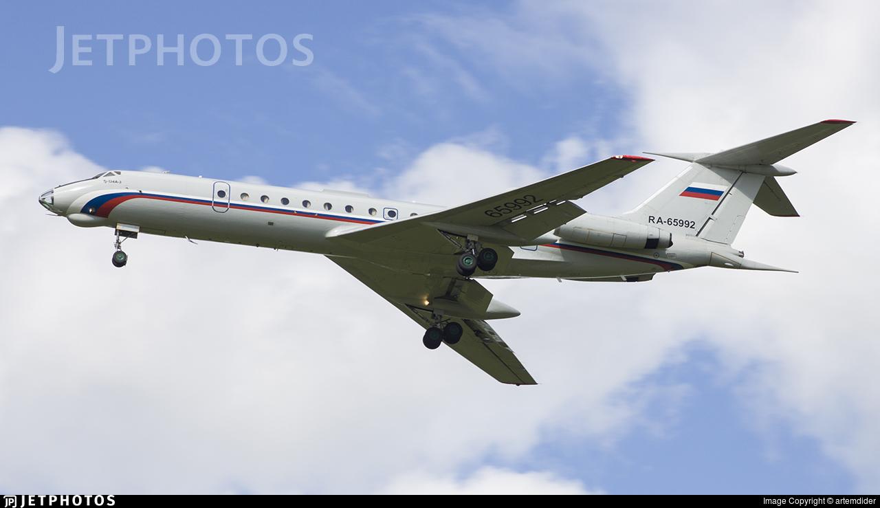 RA-65992 - Tupolev Tu-134AK - Russia - Air Force