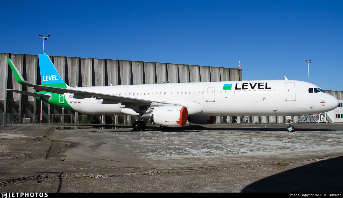 OE-LCR - Airbus A321-211 - Level (Level Europe)