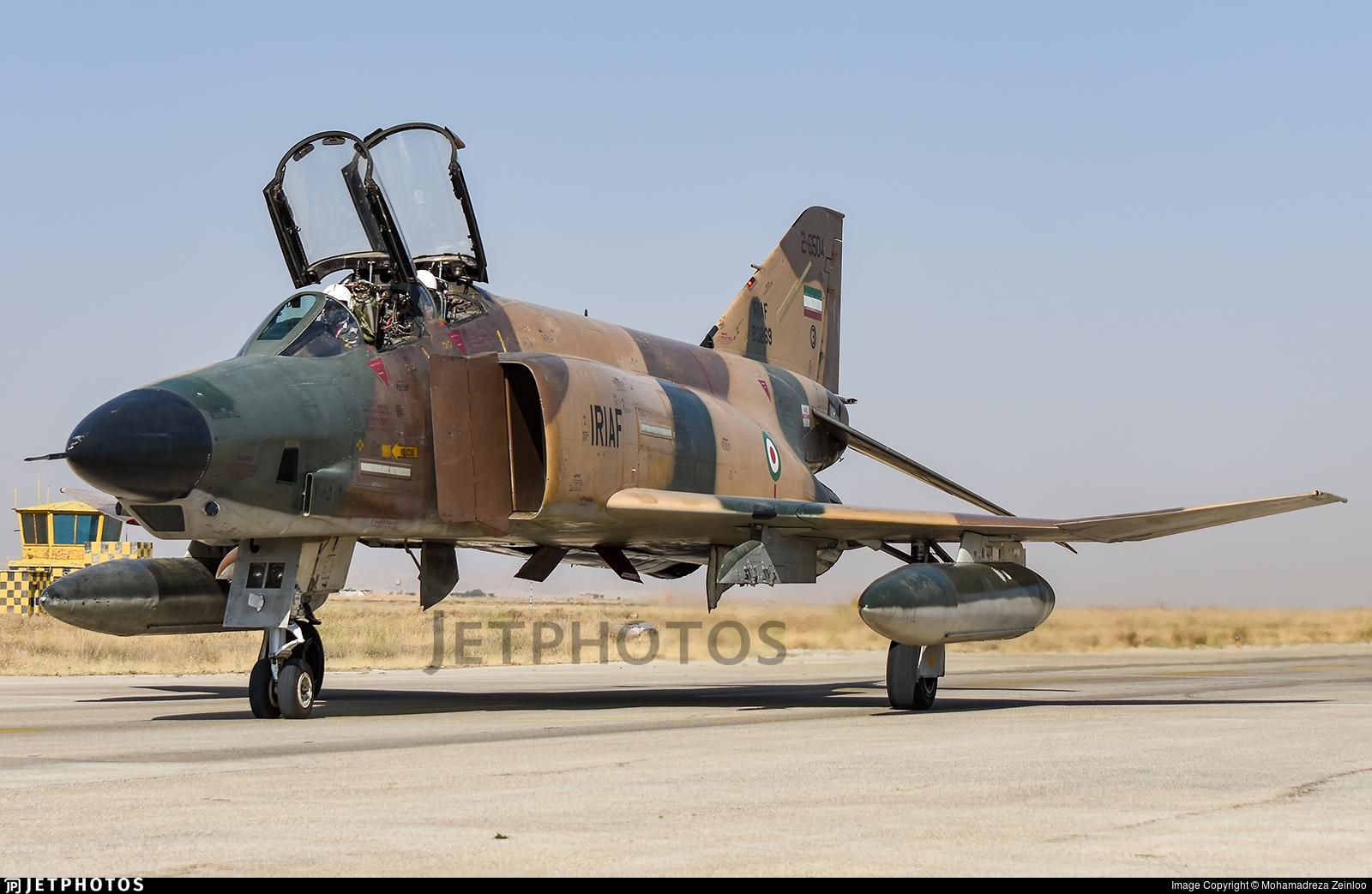 2-6504 - McDonnell Douglas RF-4E Phantom II - Iran - Air Force
