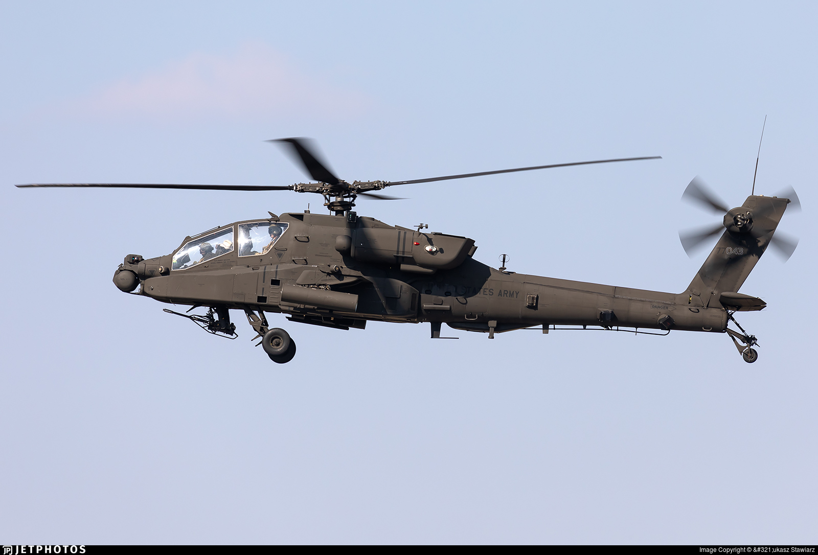07-07043 - Boeing AH-64D Apache - United States - US Army