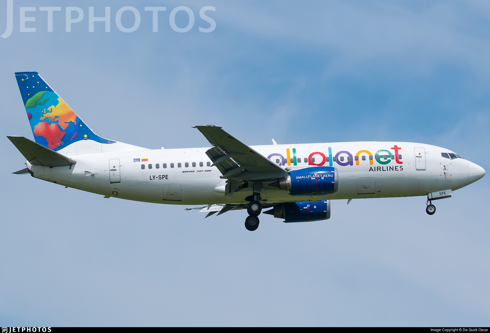 LY-SPE - Boeing 737-31S - Small Planet Airlines