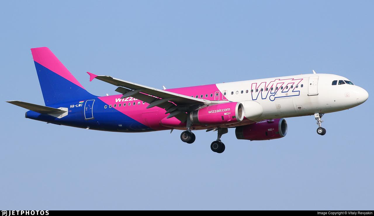 HA-LWC - Airbus A320-232 - Wizz Air