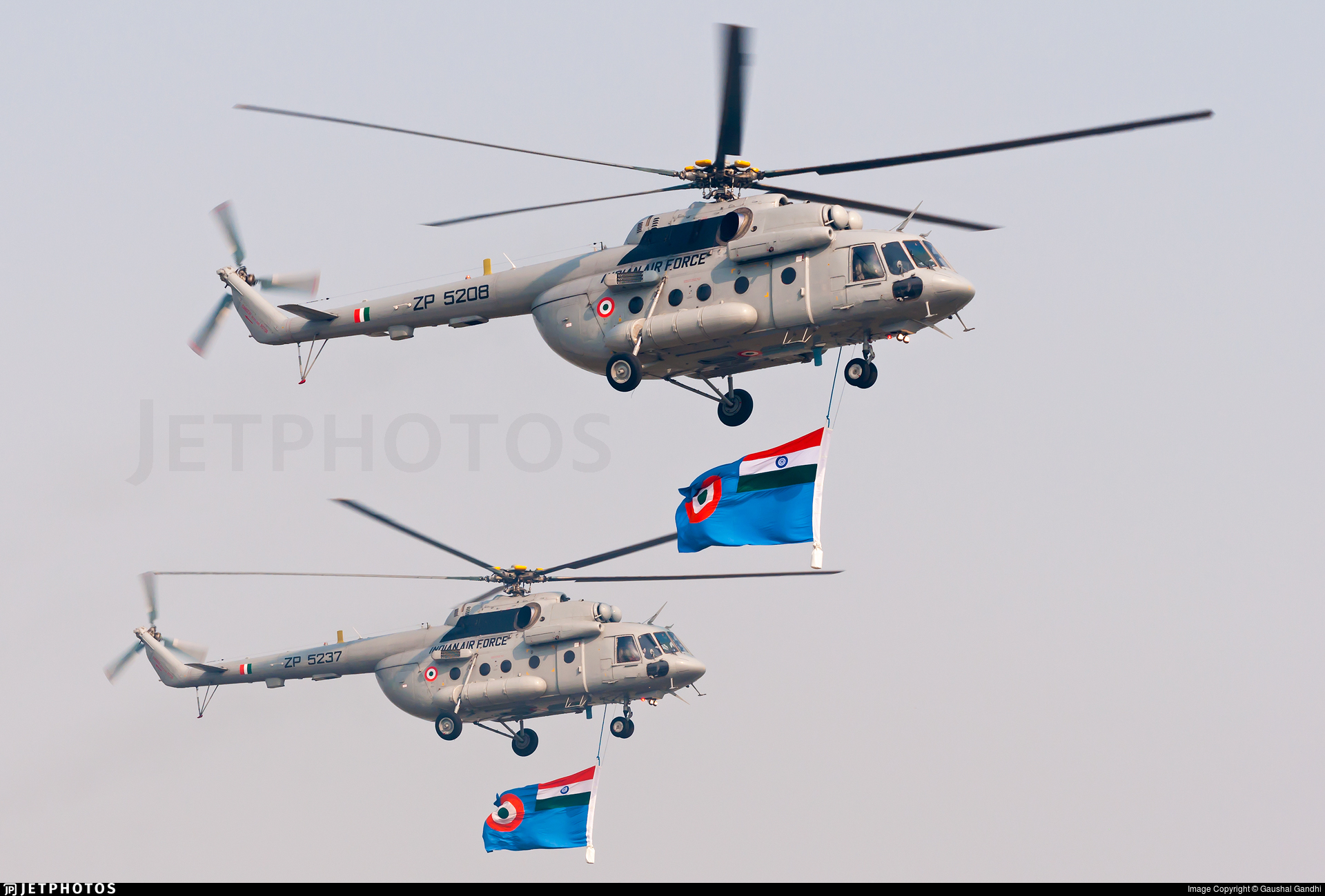 ZP5208 - Mil Mi-17V5 Hip H - India - Air Force