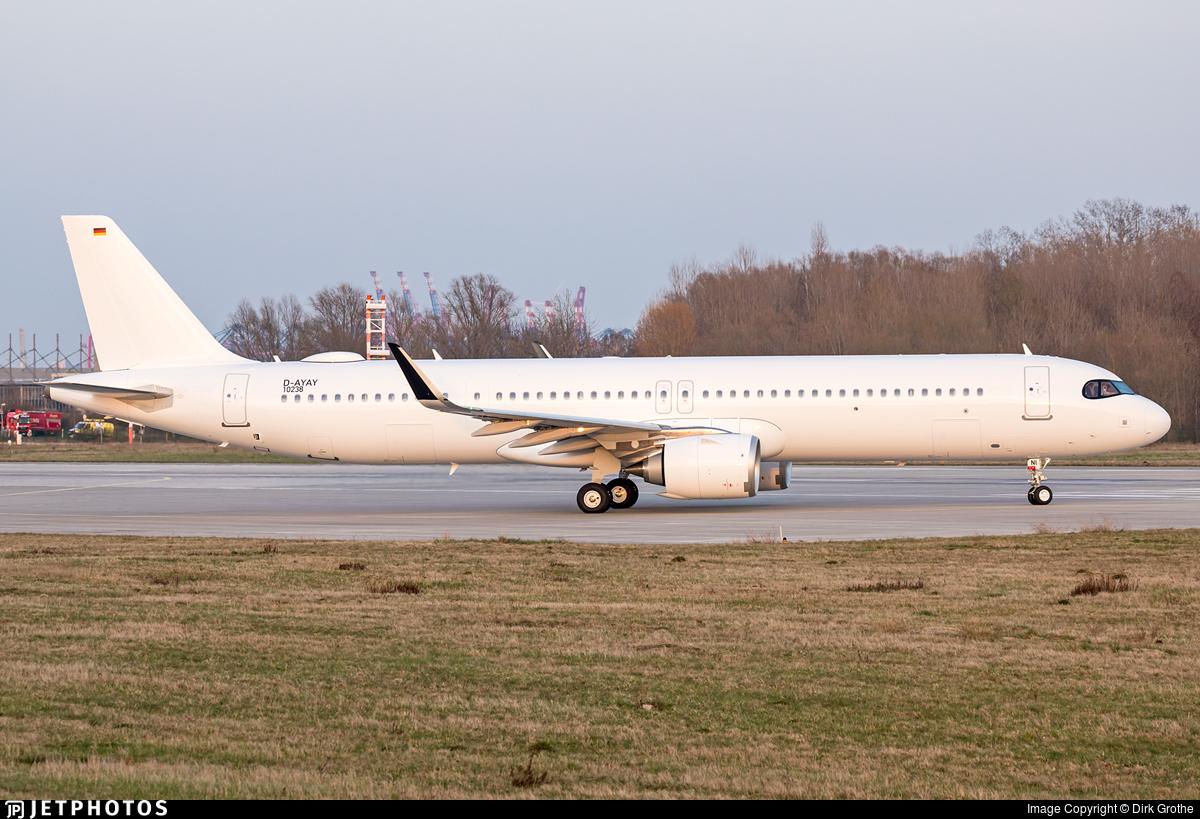 D-AYAY - Airbus A321-253NX - Titan Airways