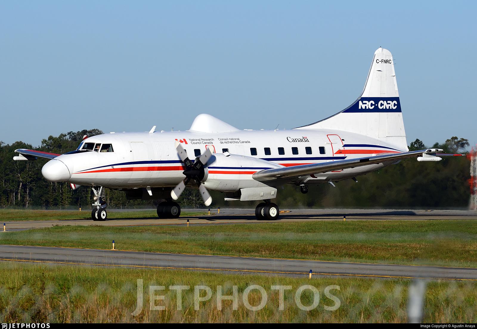 C-FNRC - Convair CV-580 - Canada - National Research Council