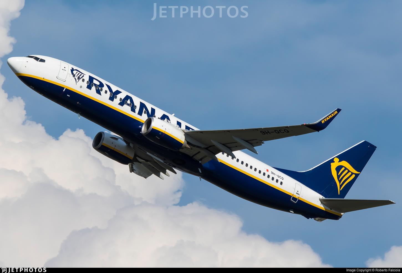 9H-QCQ - Boeing 737-8AS - Ryanair (Malta Air)