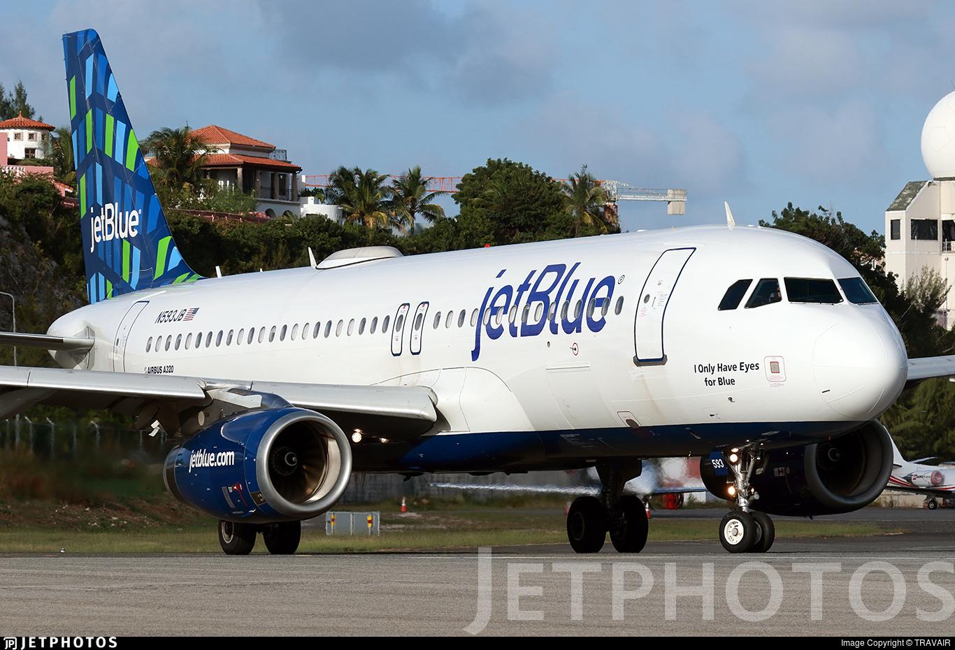 N593JB - Airbus A320-232 - jetBlue Airways