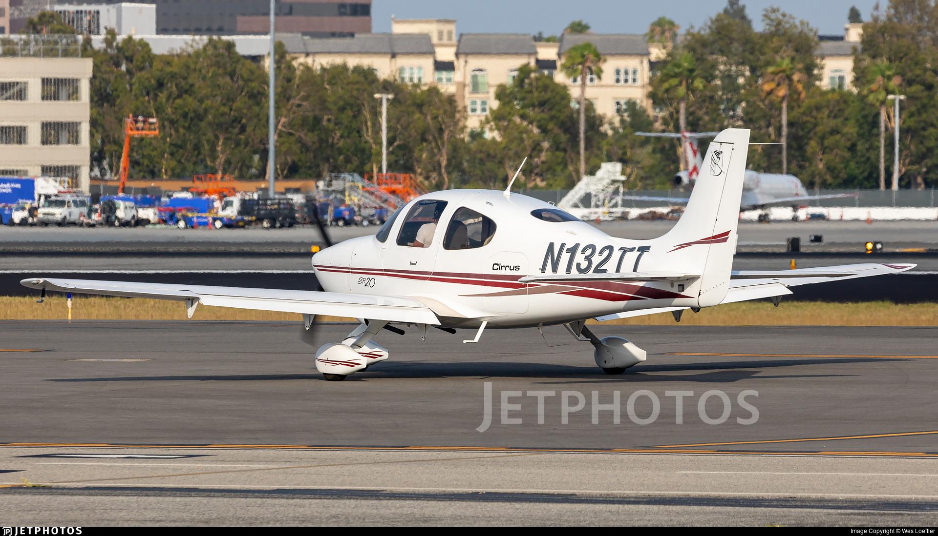 N132TT - Cirrus SR20 - Private