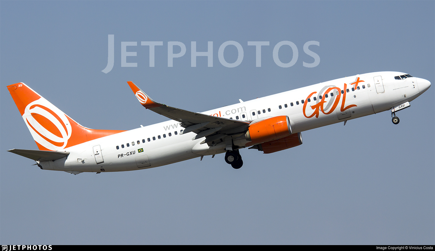 PR-GXU - Boeing 737-8EH - GOL Linhas Aéreas