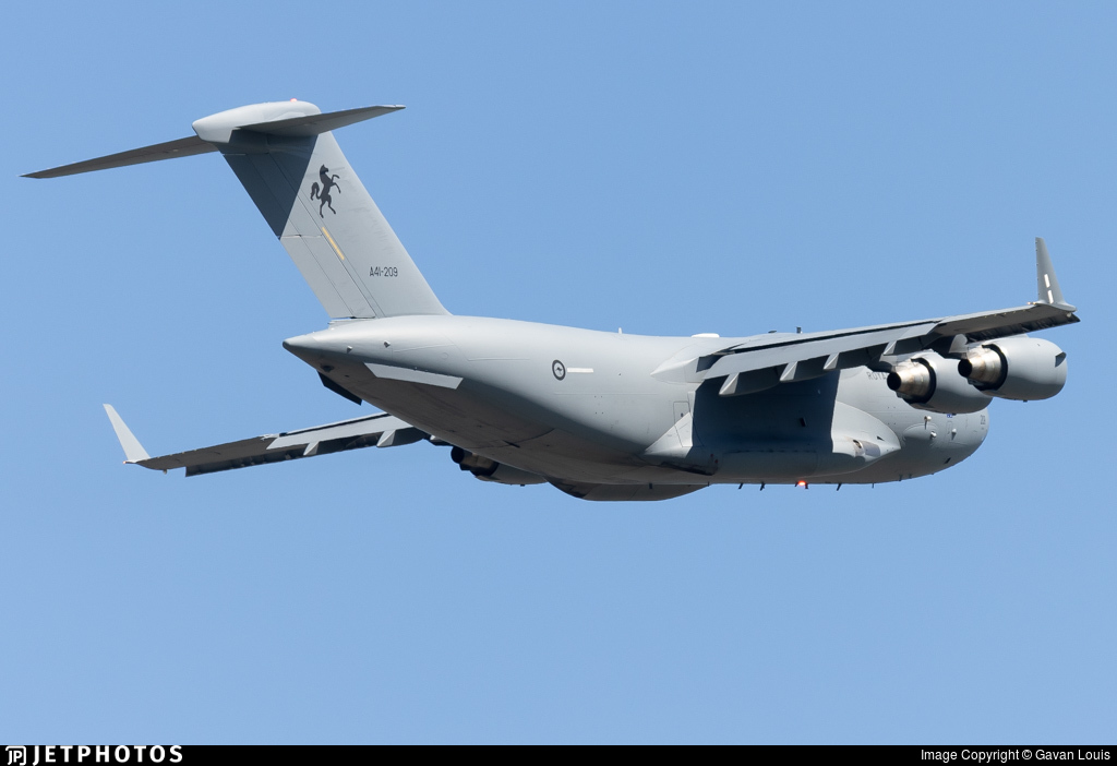 A41-209 - Boeing C-17A Globemaster III - Australia - Royal Australian Air Force (RAAF)