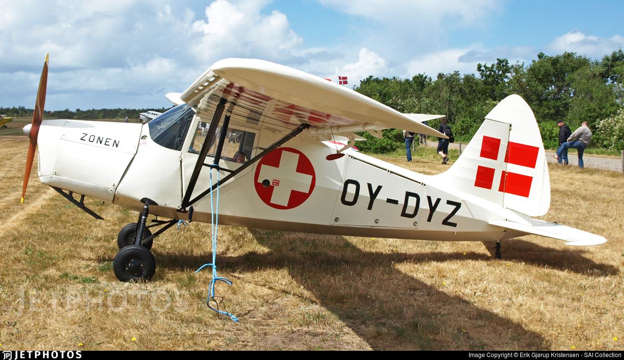 OY-DYZ - SAI KZ III - Danmarks Flymuseum