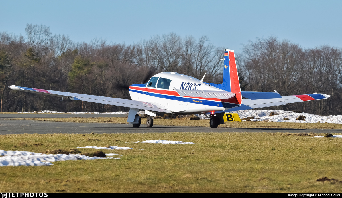 N21CC - Mooney M20K - Private