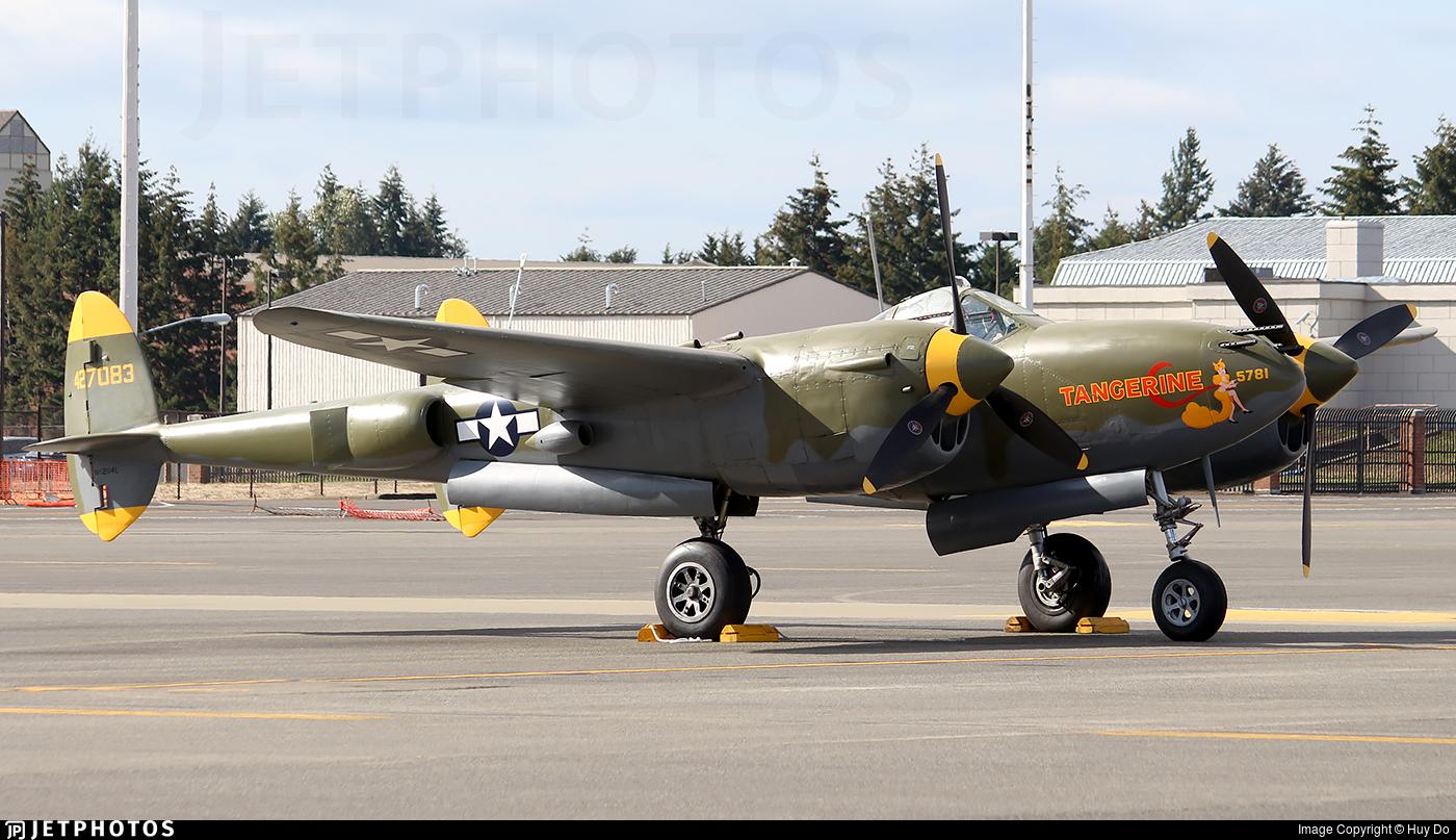 NX2114L - Lockheed P-38L Lightning - Private
