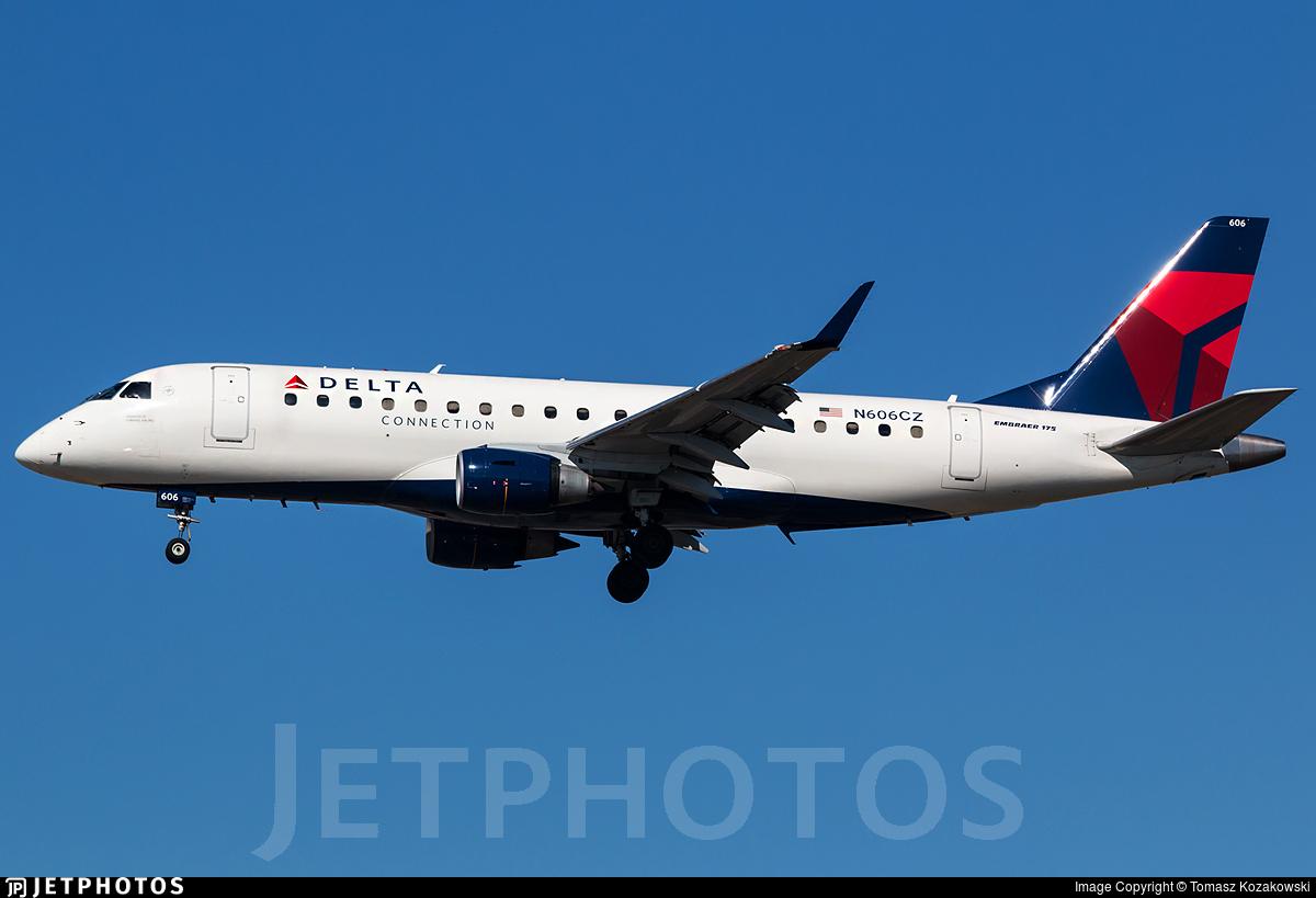 N606CZ - Embraer 170-200LR - Delta Connection (Compass Airlines)