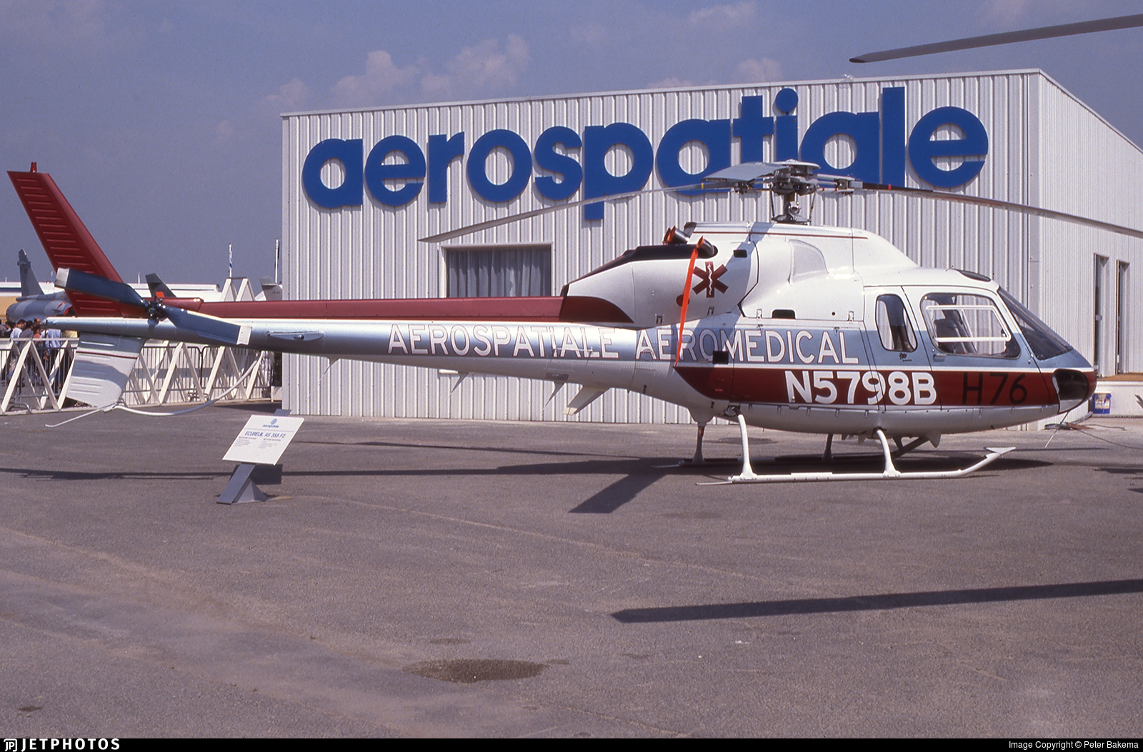 N5798B - Eurocopter AS 355F1 TwinStar - Eurocopter