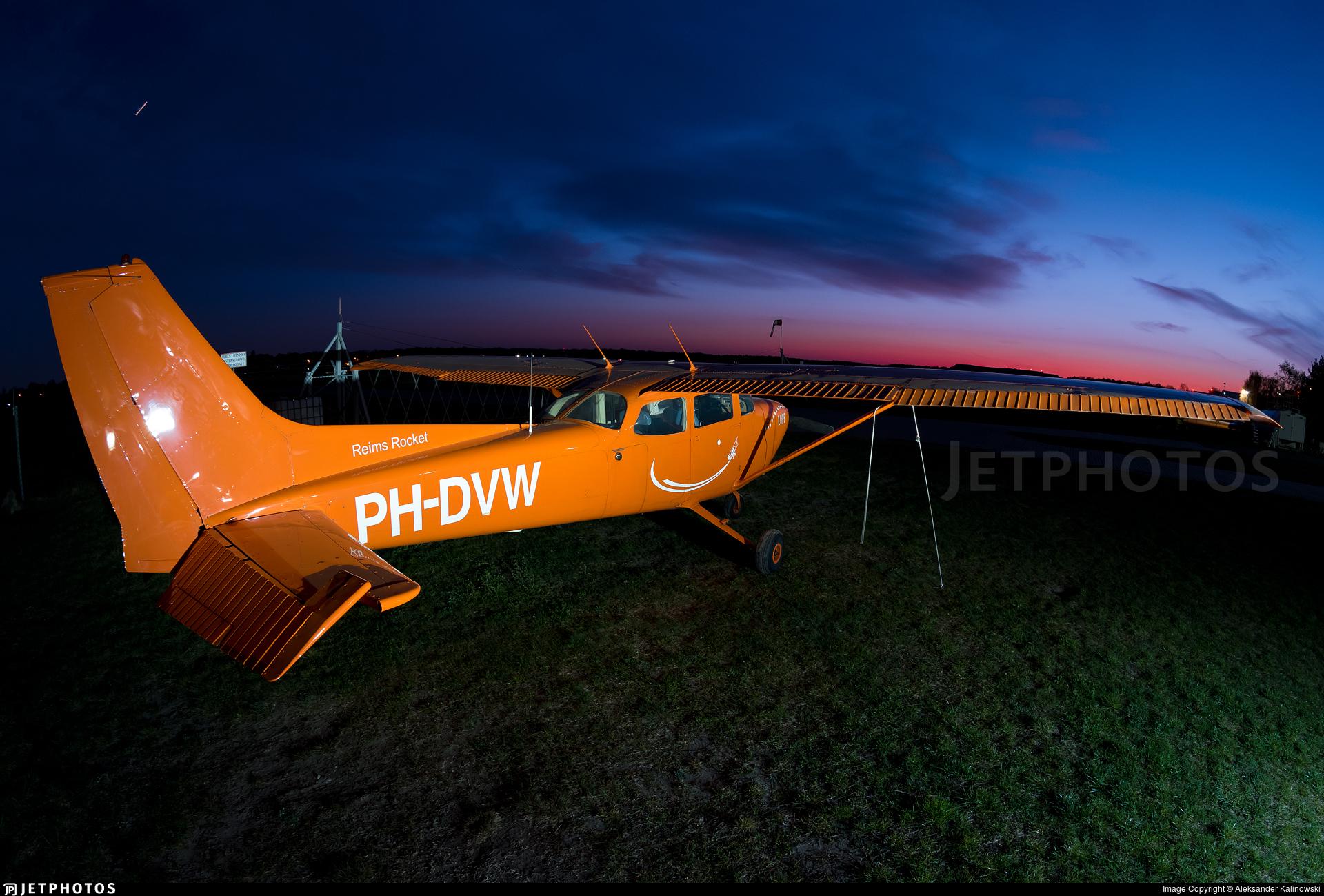 PH-DVW - Reims-Cessna FR172H Reims Rocket - Private