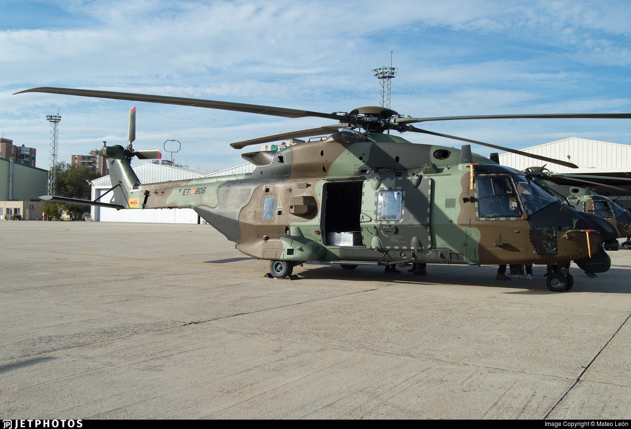 HT.29-06 - NH Industries NH-90TTH - Spain - Army