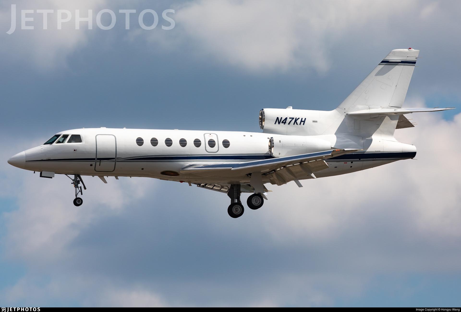 N47KH - Dassault Falcon 50 - Private