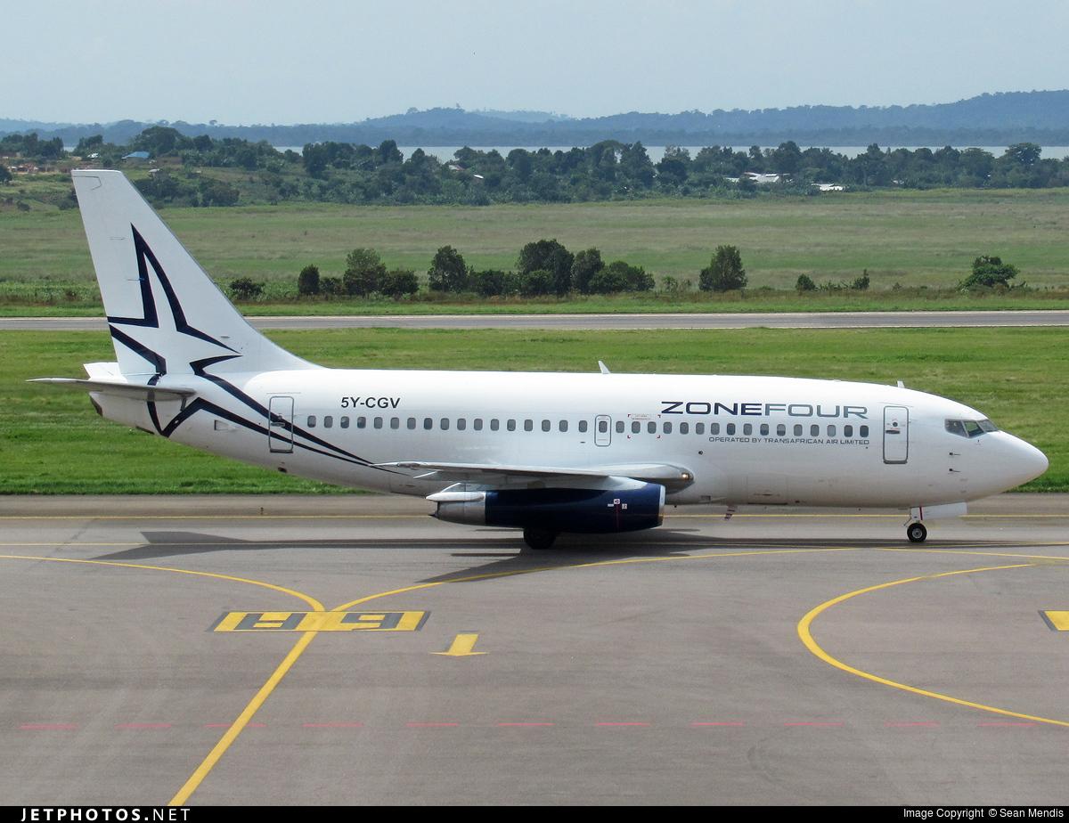5Y-CGV - Boeing 737-229C(Adv) - Transafrican Air