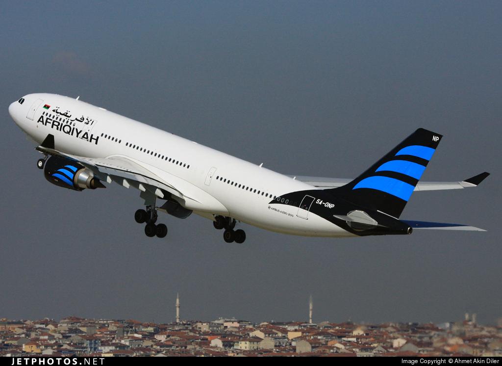5A-ONP - Airbus A330-202 - Afriqiyah Airways