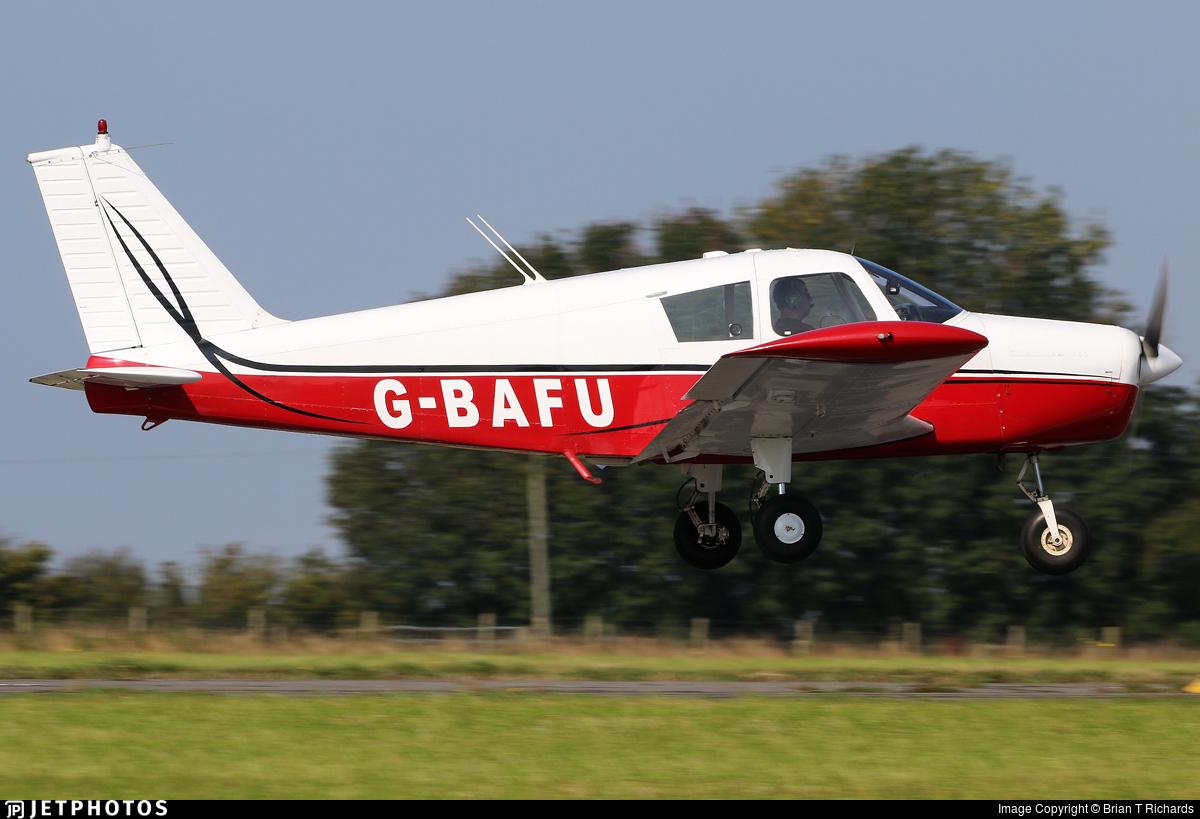 G-BAFU - Piper PA-28-140 Cherokee - Private