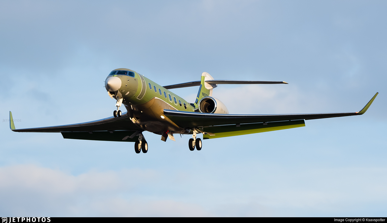 N652GD - Gulfstream G650ER - Gulfstream Aerospace