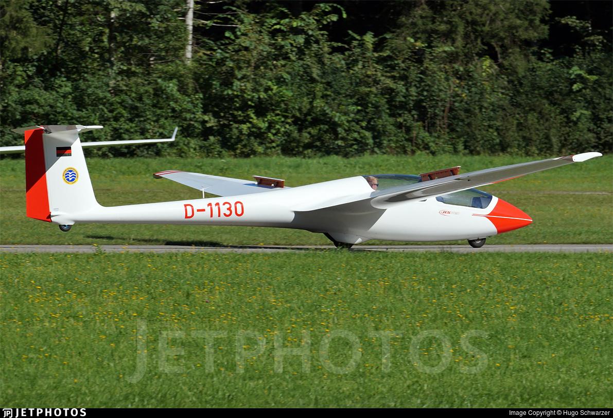 D-1130 - Schleicher ASK-21 - Deutsche Alpensegelflugschule Unterwössen