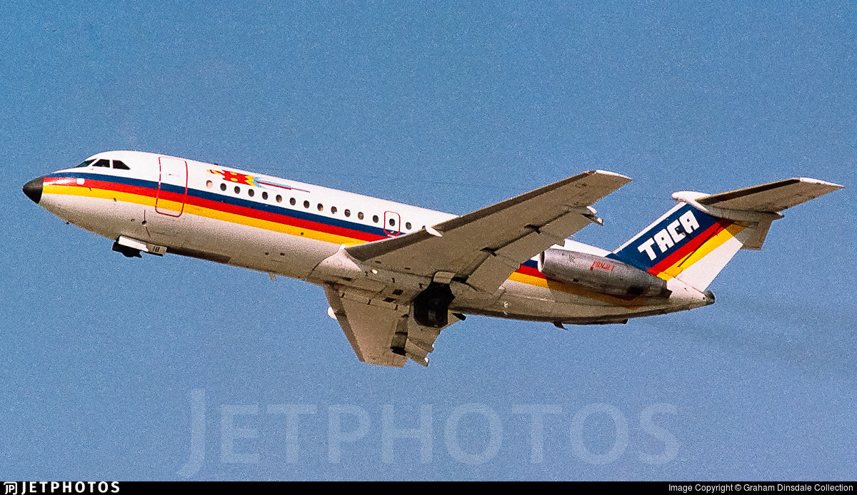 YS-18C - British Aircraft Corporation BAC 1-11 Series 407AW - TACA International Airlines