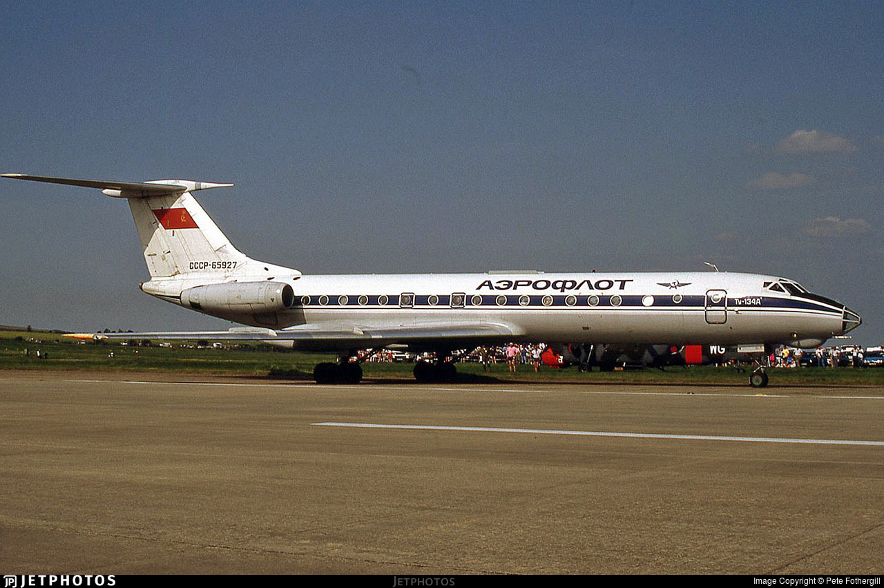 CCCP-65927 - Tupolev Tu-134AK - Aeroflot