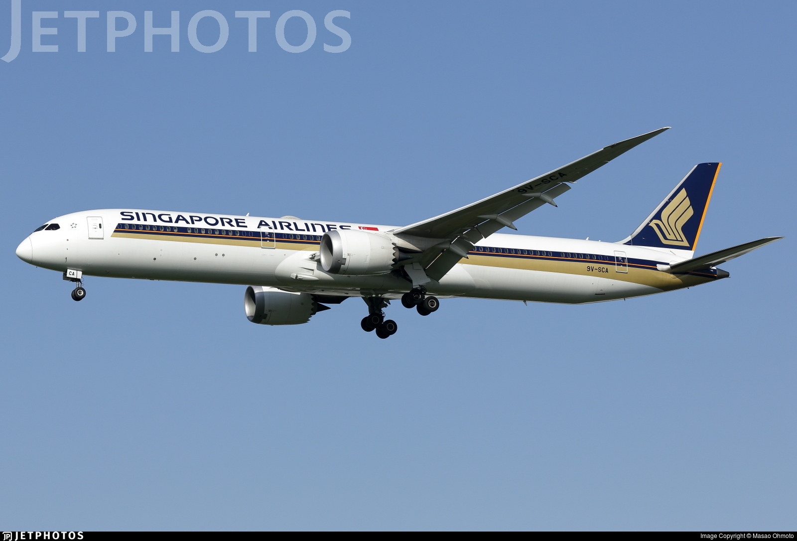9V-SCA - Boeing 787-10 Dreamliner - Singapore Airlines
