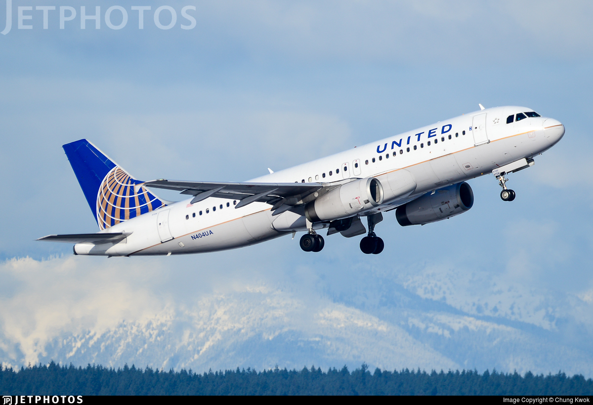 N404UA - Airbus A320-232 - United Airlines