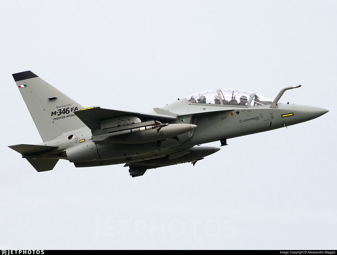MT55232 - Alenia Aermacchi T-346A - Italy - Air Force