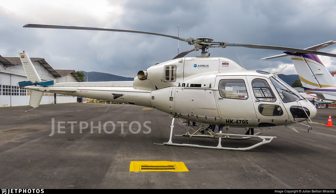 HK-4795 - Eurocopter AS 355NP Ecureuil 2 - Private