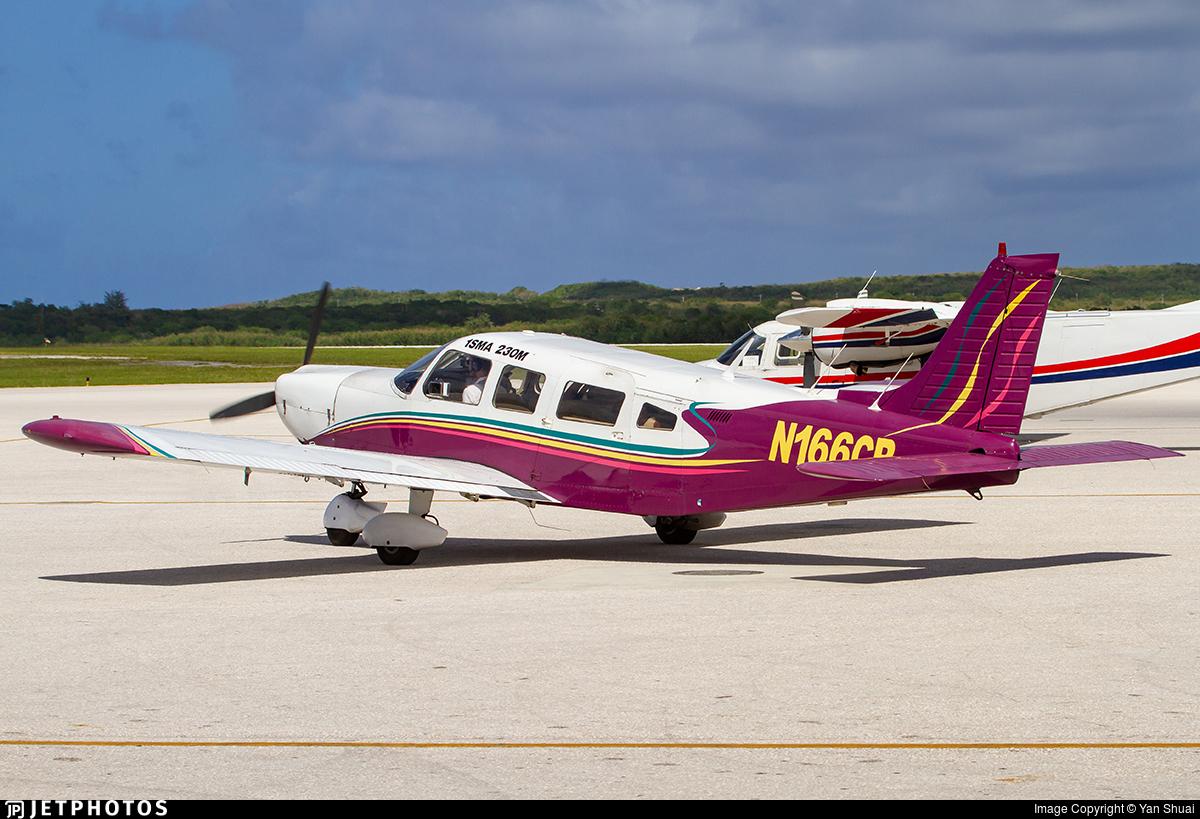 N166CB - Piper PA-32-300 Cherokee Six - Private