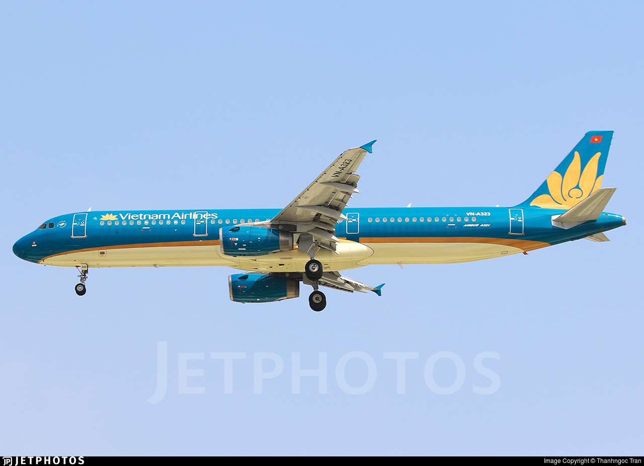 VN-A323 - Airbus A321-231 - Vietnam Airlines