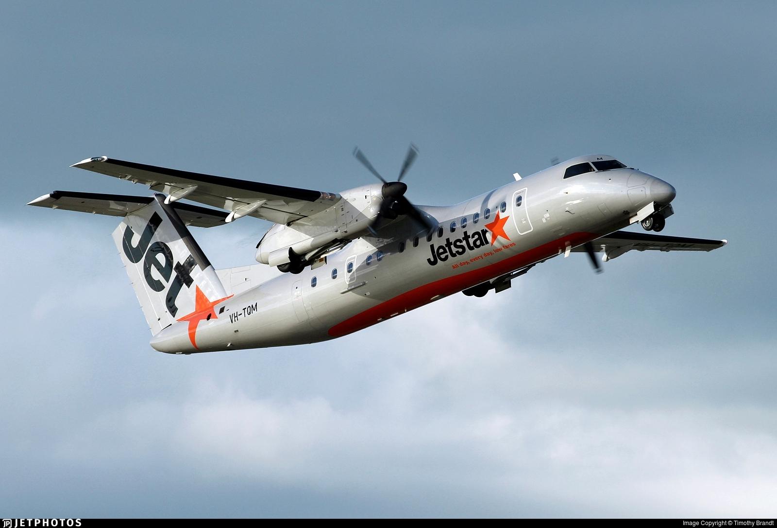 VH-TQM - Bombardier Dash 8-Q315 - Jetstar Airways (Eastern Australia Airlines)