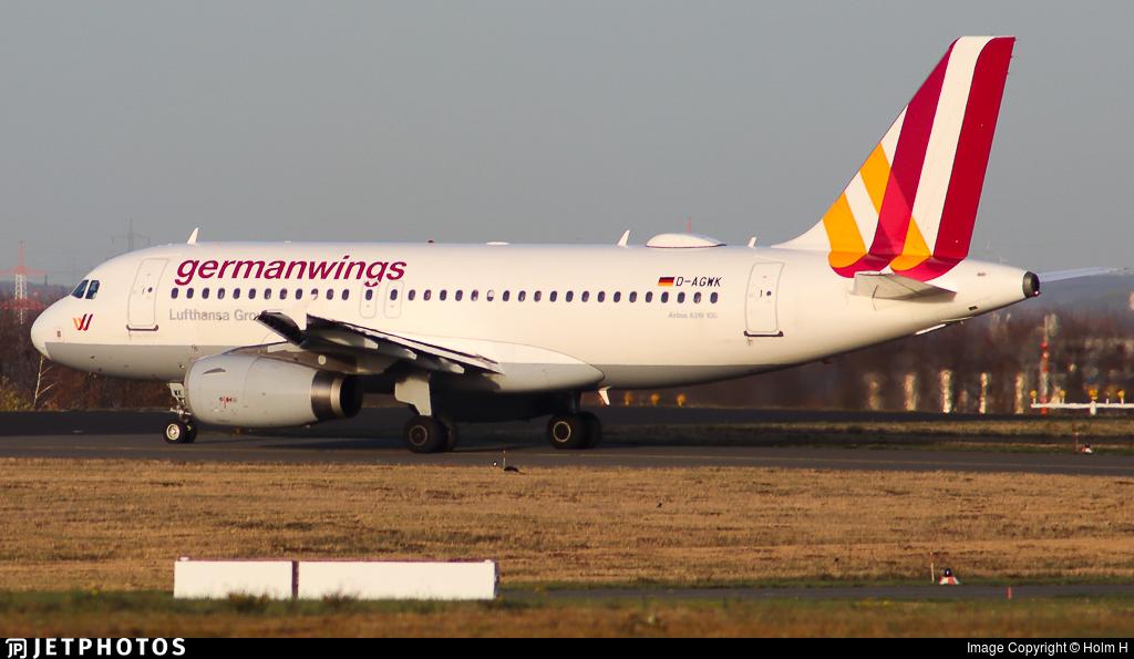 D-AGWK - Airbus A319-132 - Germanwings