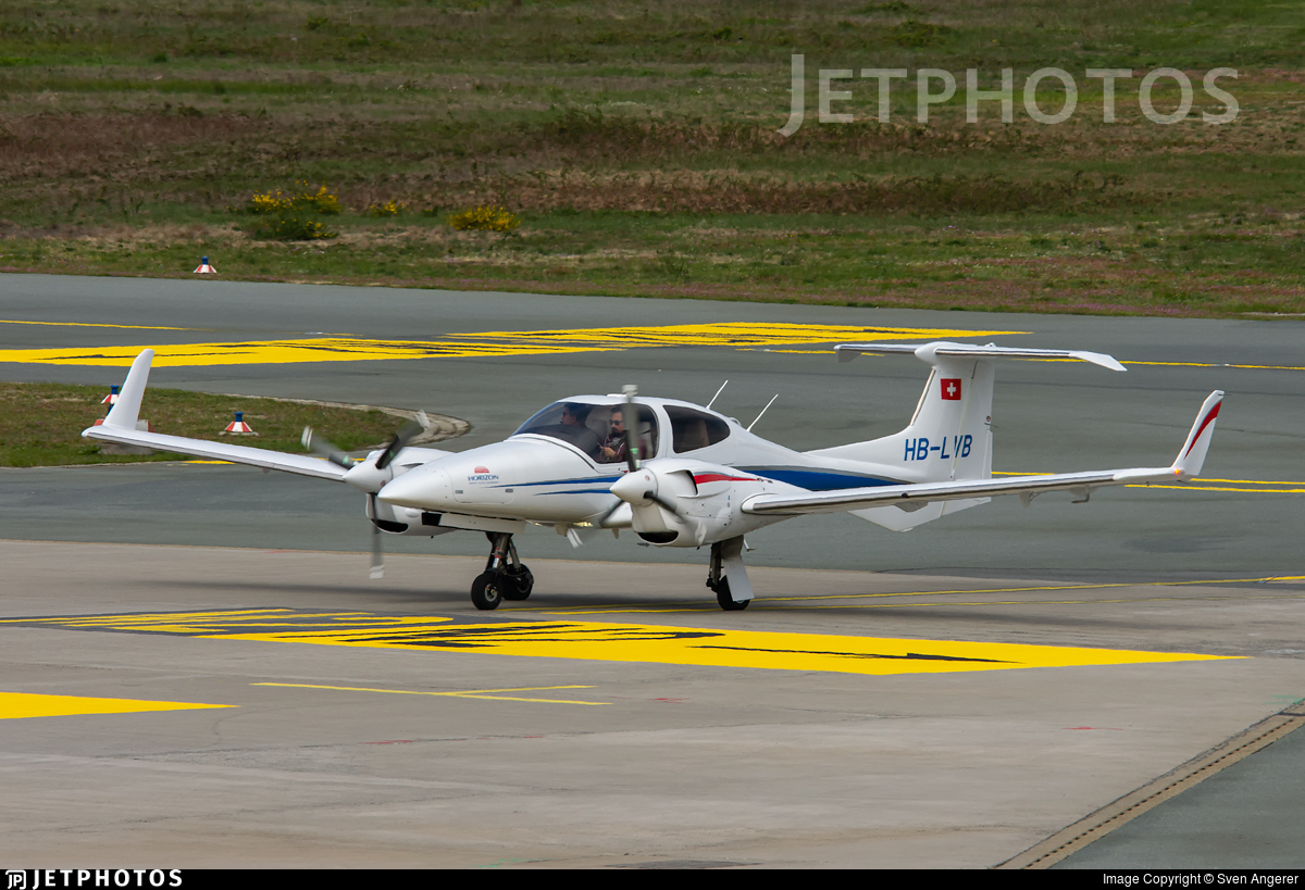 HB-LVB - Diamond DA-42 NG Twin Star - Horizon Swiss Flight Academy